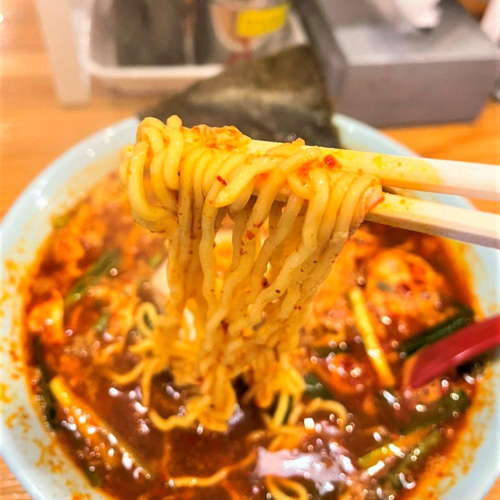 中太のたまご麺
