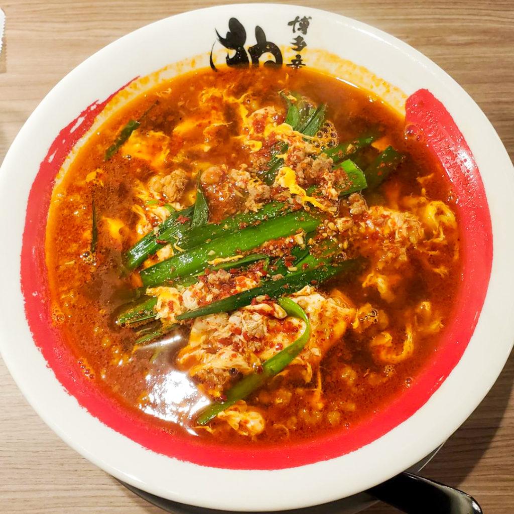しょうゆ辛麺